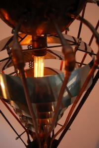 Corpus of the Insect Light Sculpture